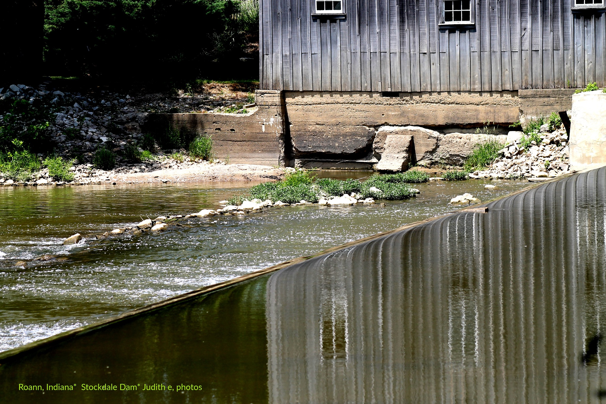 A dam still in use, a hundred years later  by JUDITH HORN