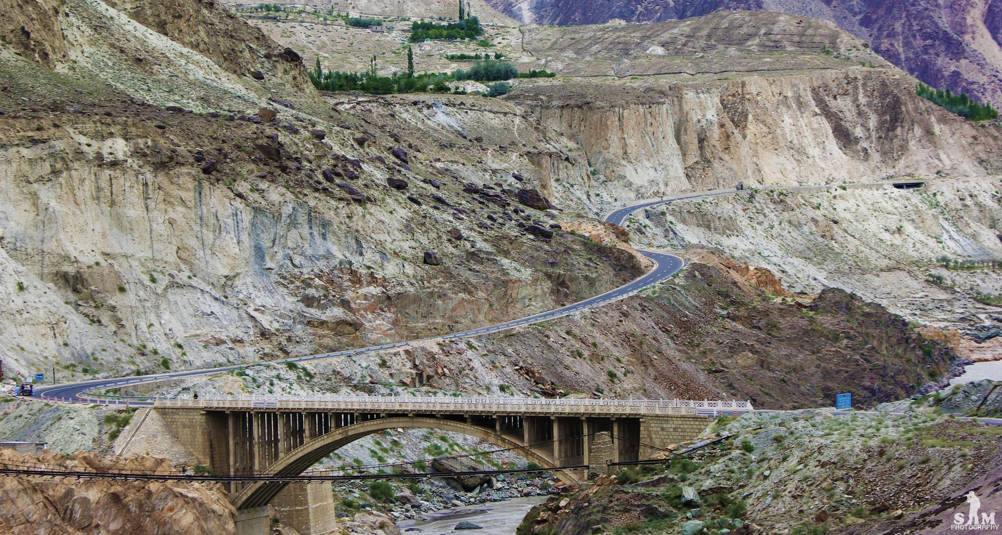 KKH View Hunza by samphotographyy