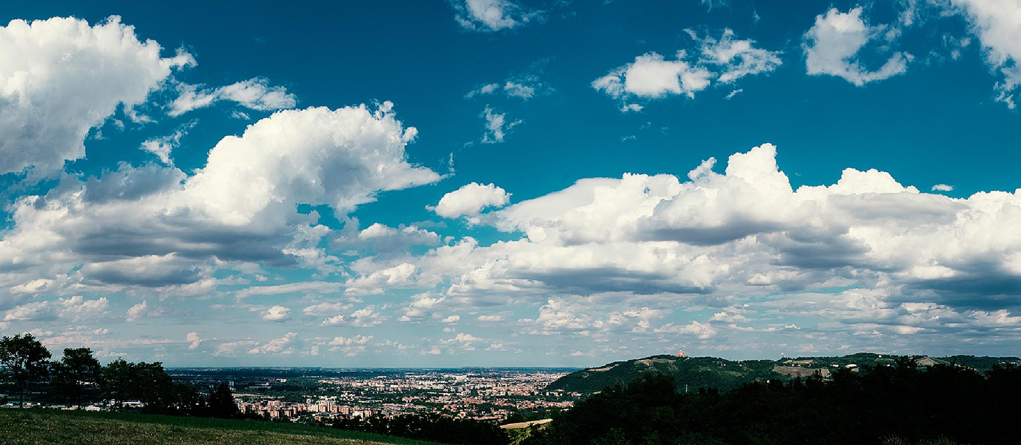 CITY OF BOLOGNA ... UNUSUAL LANDSCAPE ! by a c photos