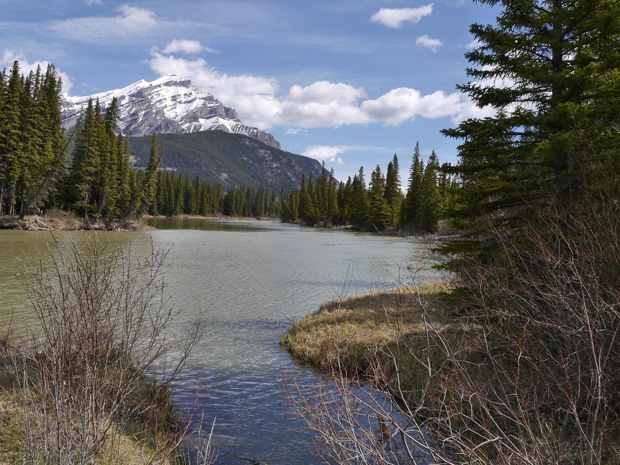 Bow River Banff by Stuart51