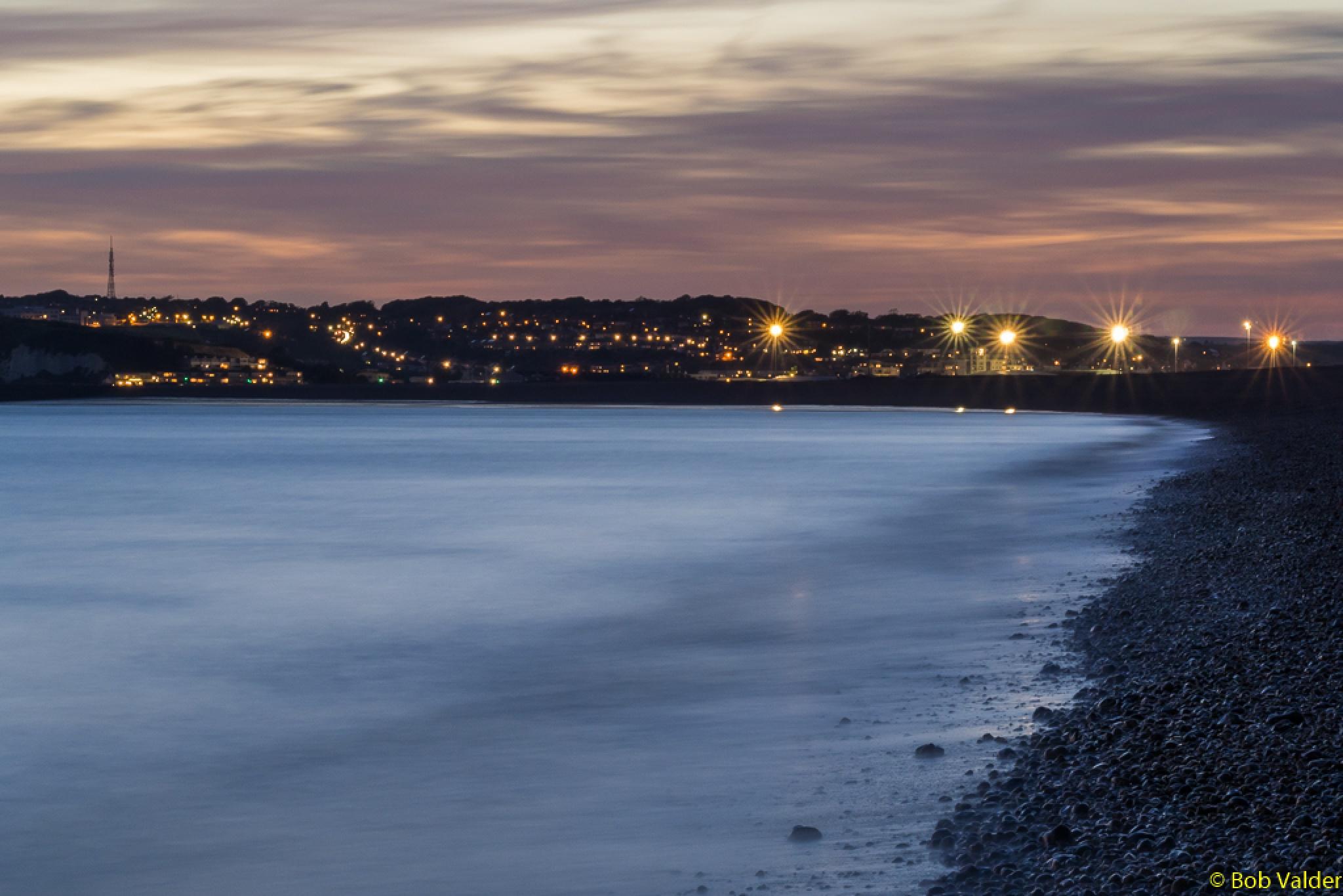 Dusk in the Bay by BobbyV