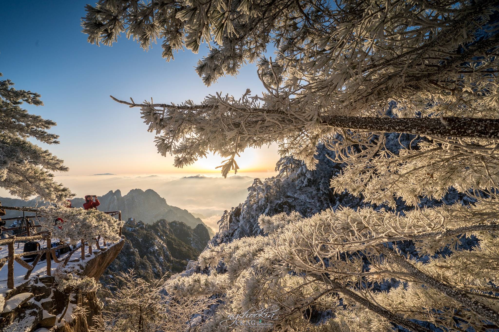 雪凇 Snow Yuki II 黃山-Huangshan-China  by chookia