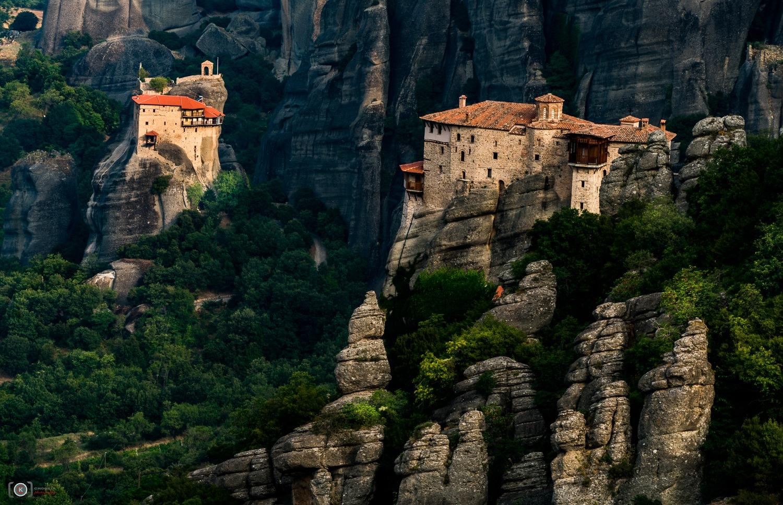 Roussanou Nunnery II Meteora, Thessaly, Greece  by chookia