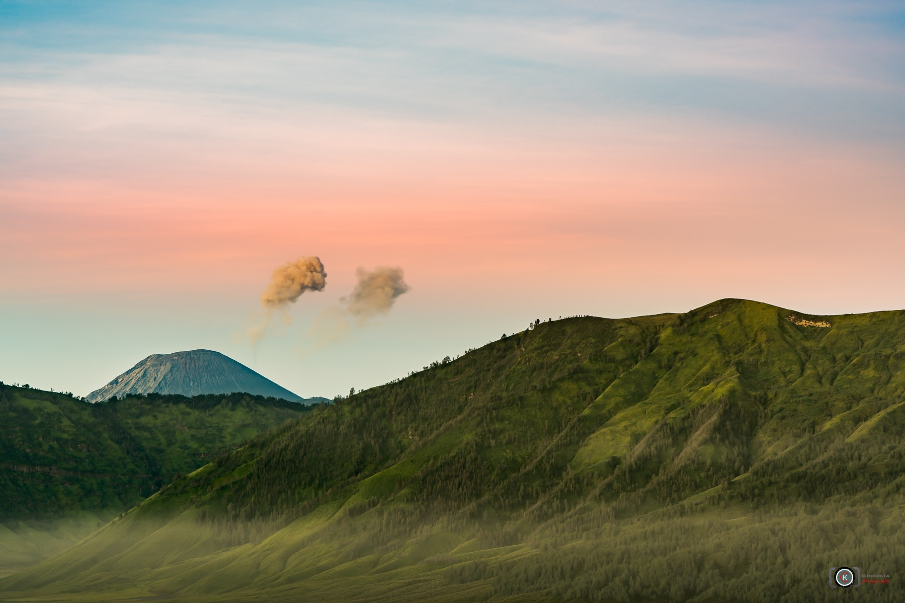 Dawn On The Mount Bromo II East Java-Indonesia  by chookia