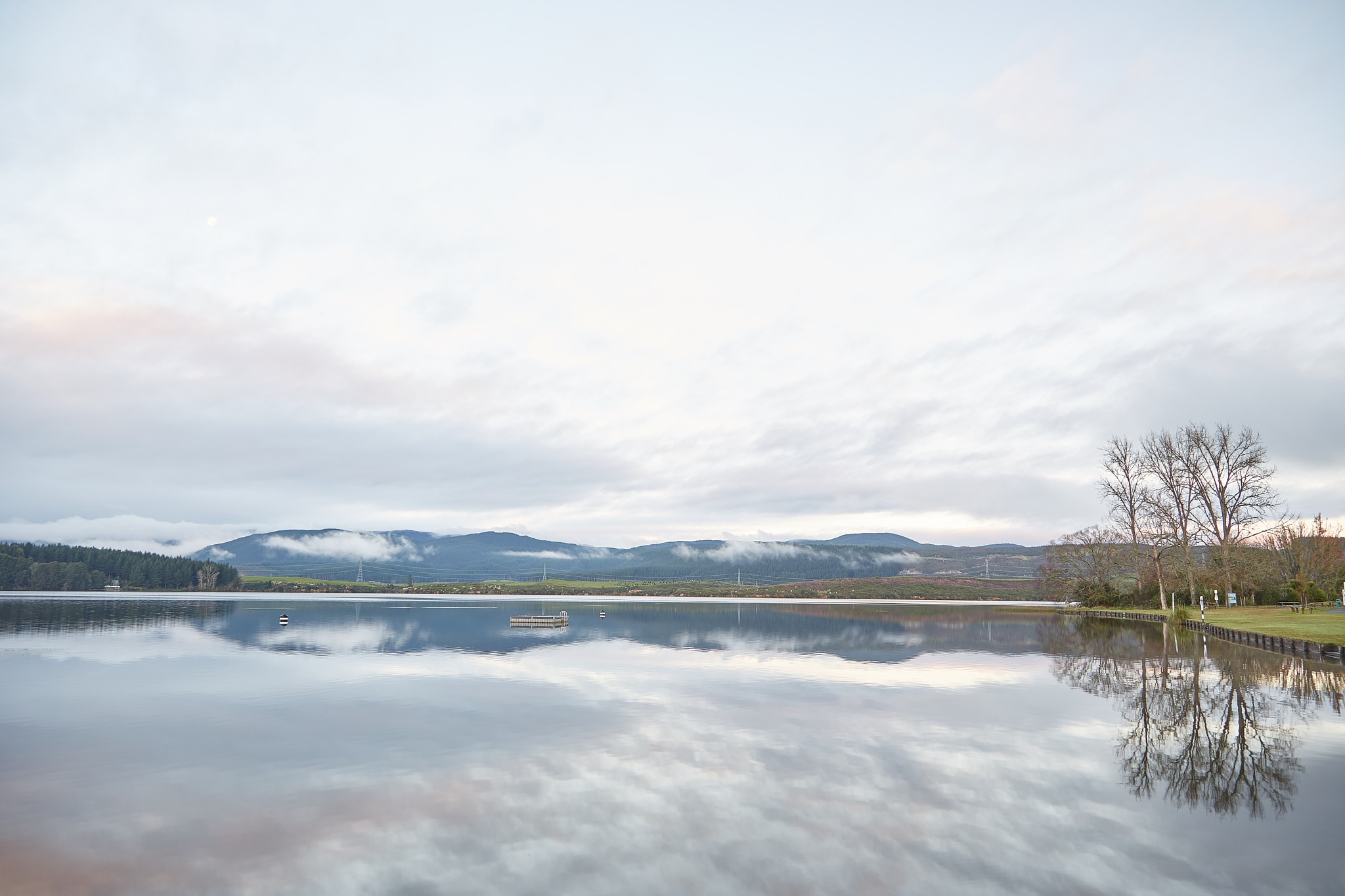 Calm lake by Adriel Kloppenburg