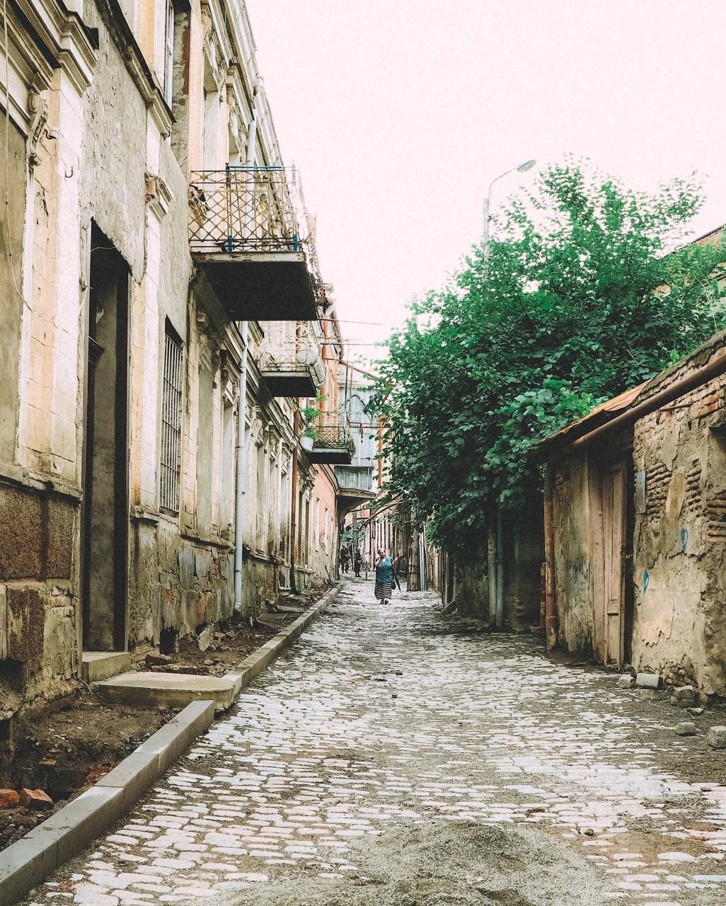 Old Tbilisi. by ILiya  Vasyutovich