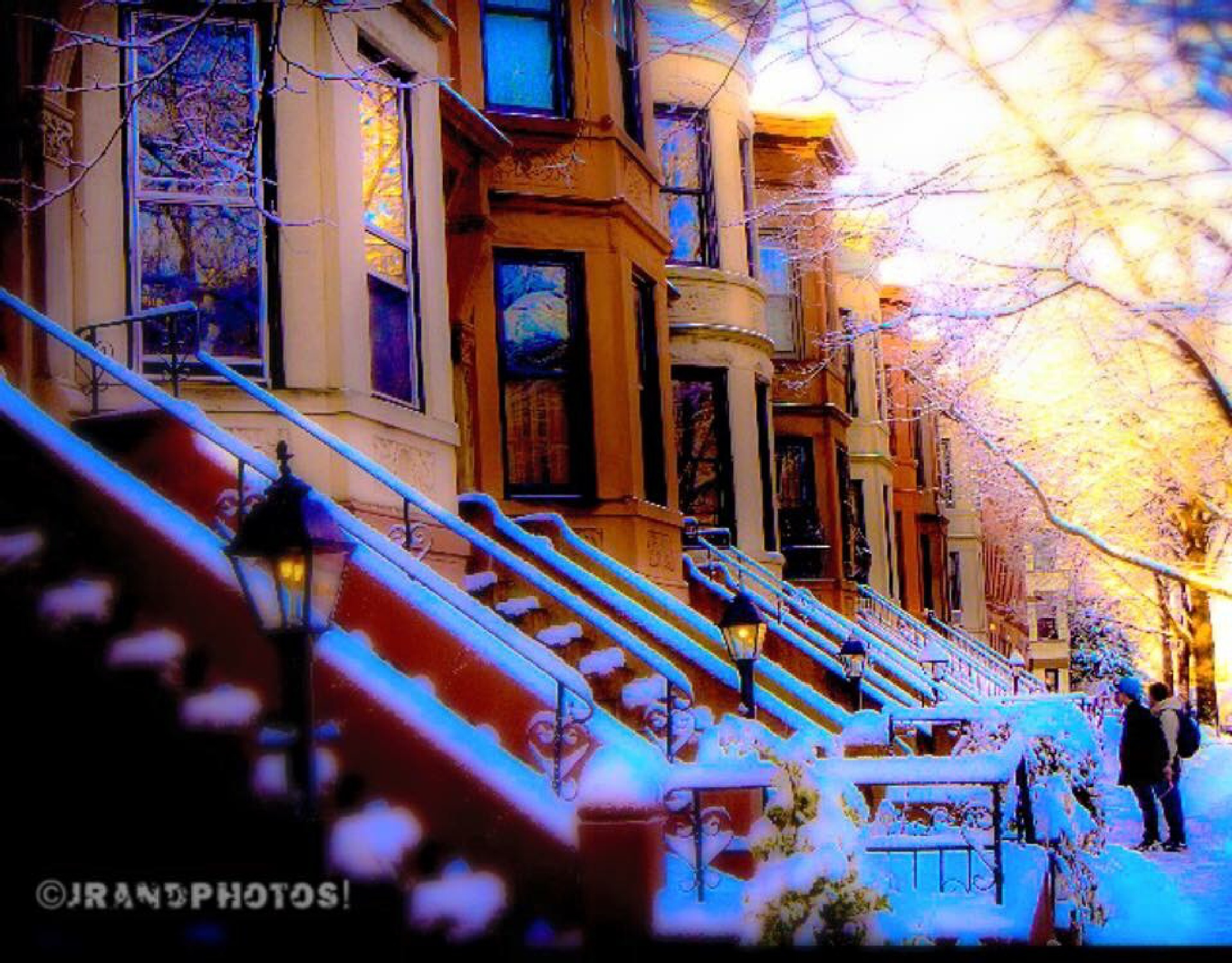 Winter time in Brooklyn NY by johnrand