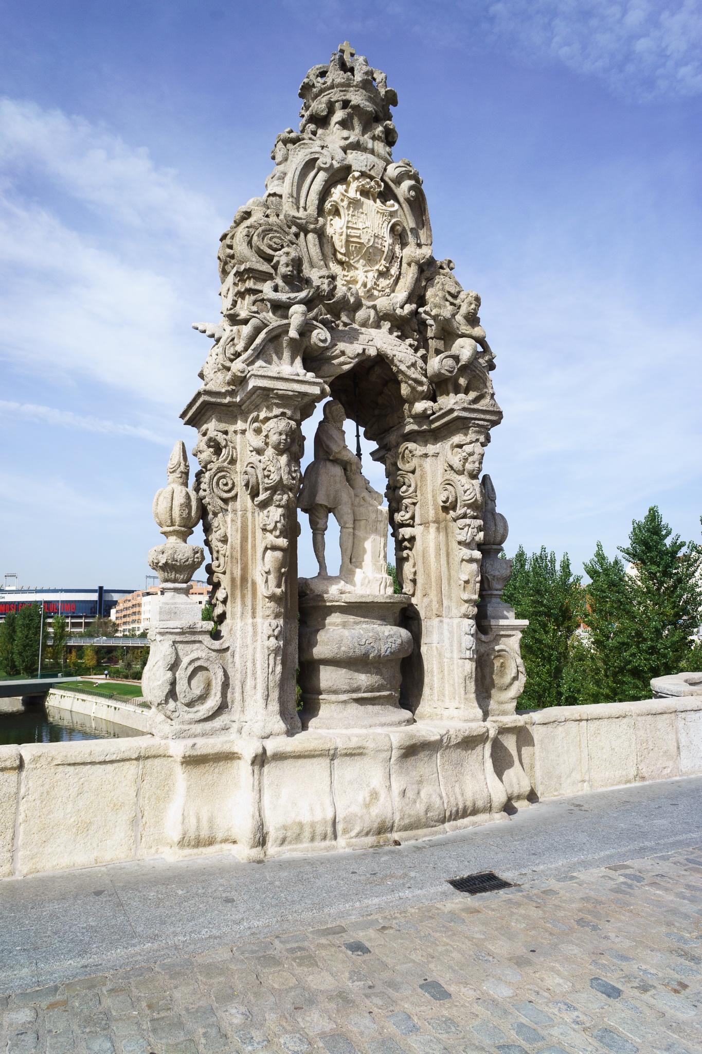 Patron saint of Madrid by Jose Manuel Navarro