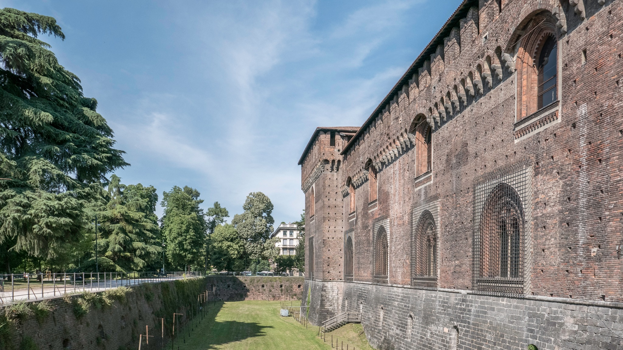 Sforza Castle by Jose Manuel Navarro