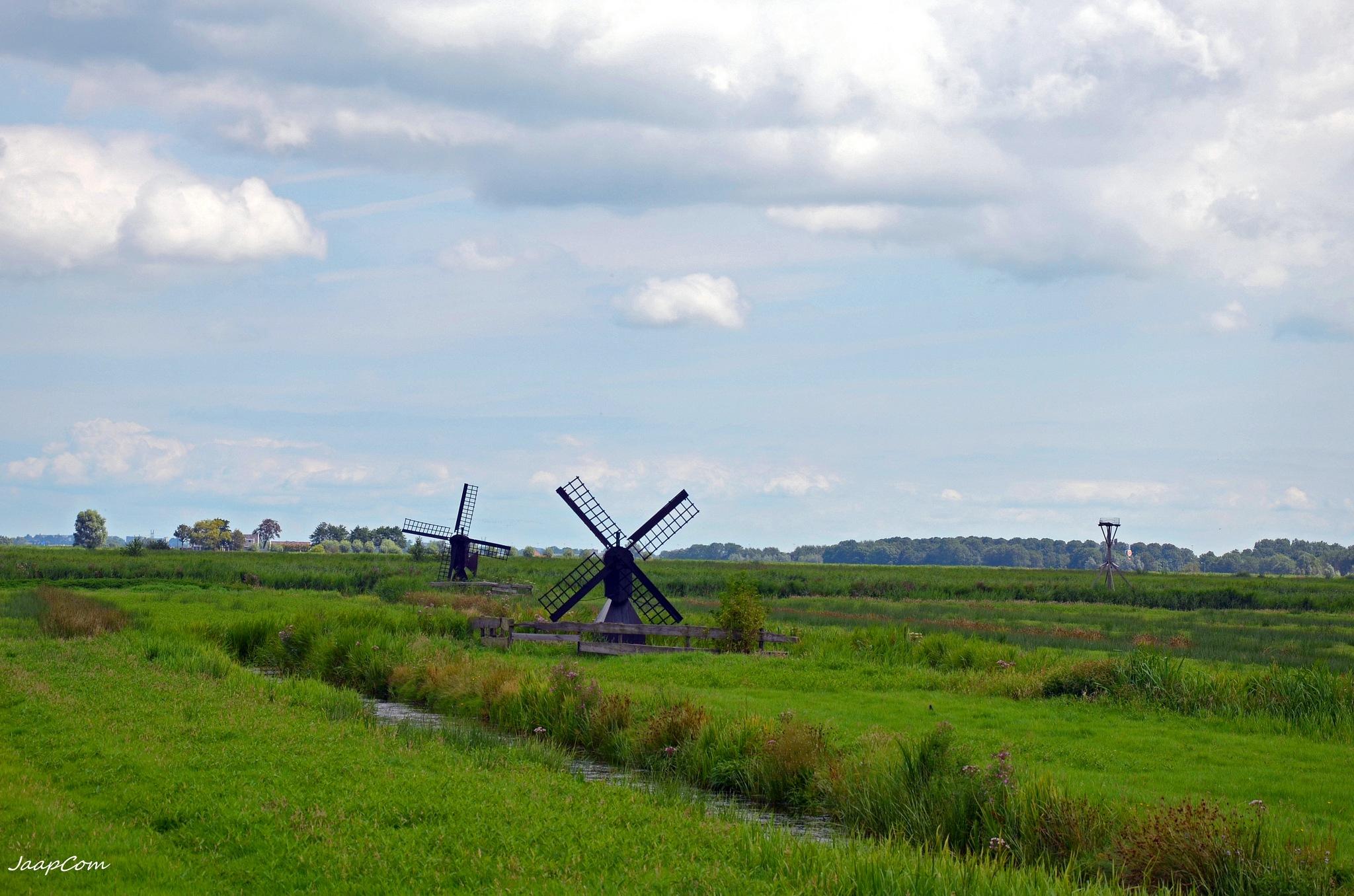 Landcape Mills by Jaap van Werven