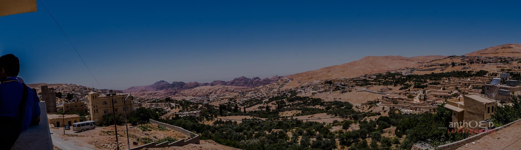 Panoramic on Petra Magic Restaurant by Anthoen Luciferano Karnanta