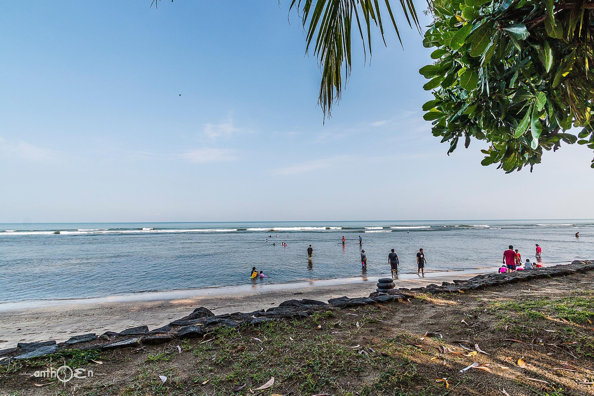 Get on the Beach by Anthoen Luciferano Karnanta