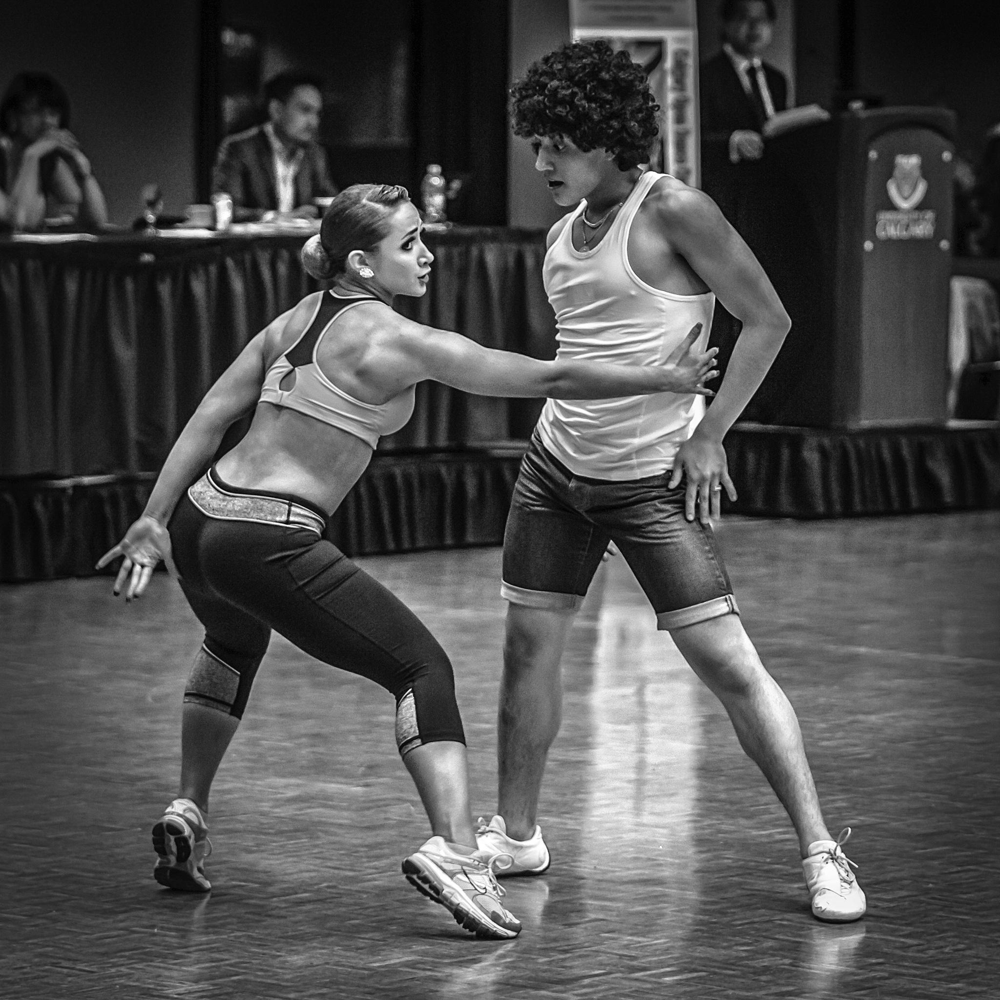 Dance Competition by John Watson