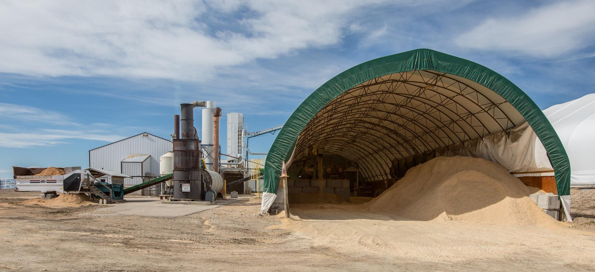Making Dried Sawdust by John Watson