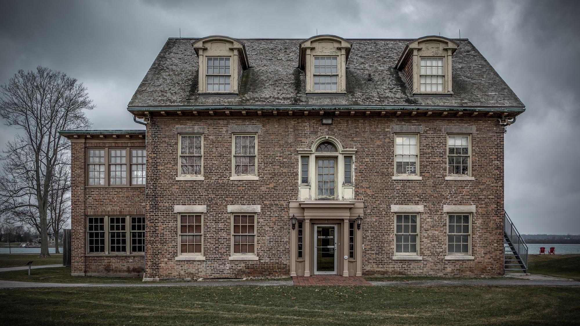 Historic Fort Malden Museum by John Watson