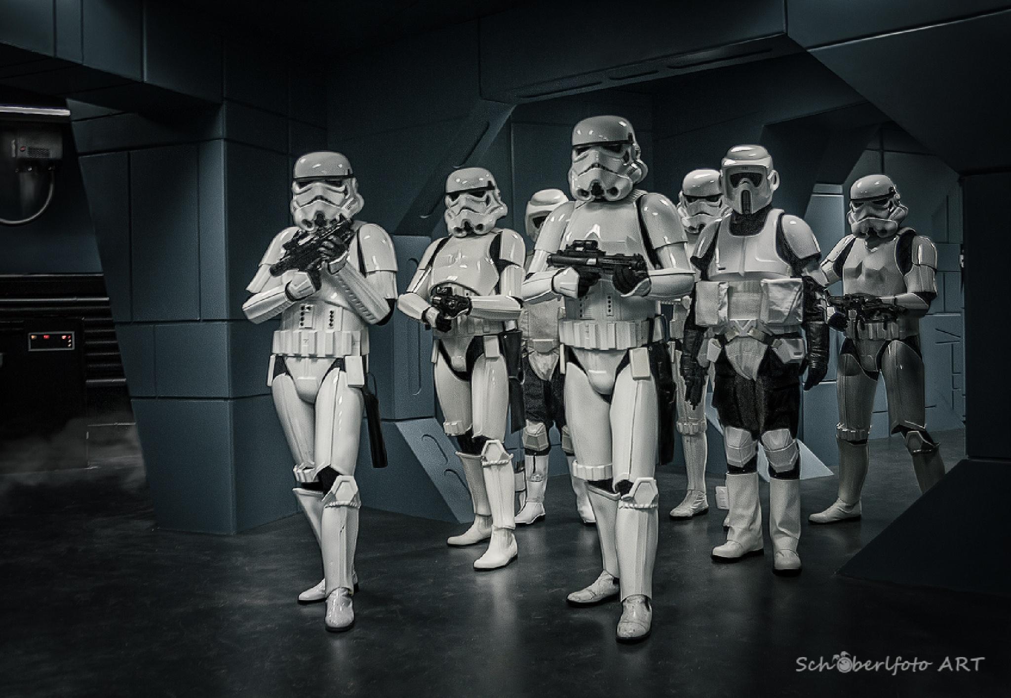 Stormtroopers by Schöberlfoto-ART