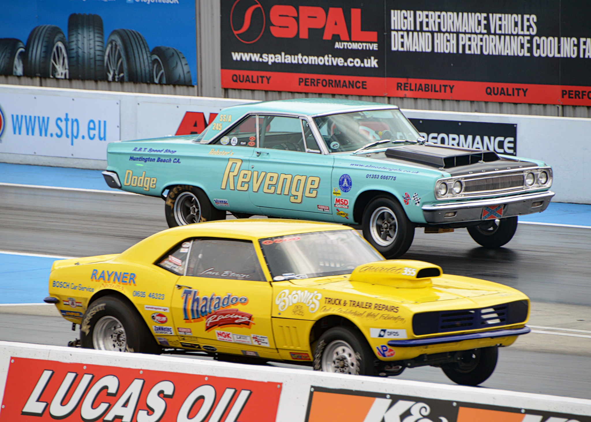 Super Stock Drag by homicidal45