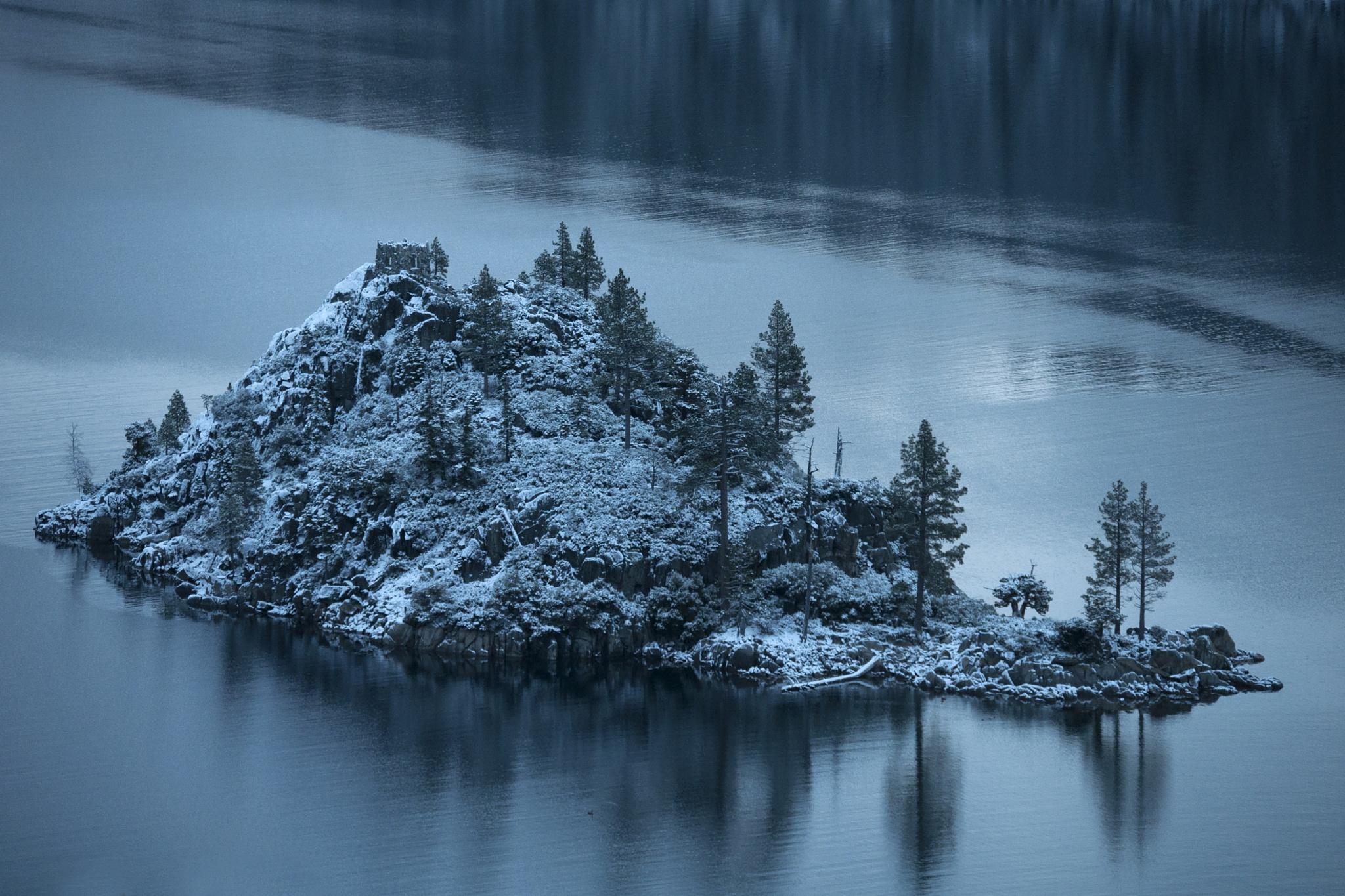 Fannette Island, Emerald Bay by Neal Lacroix