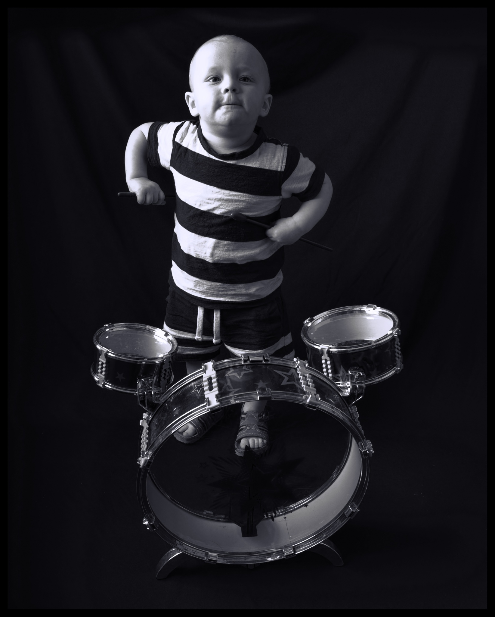 Boisterous grandson by Camera_Obscura