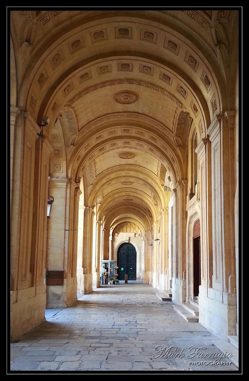 Photo in Architecture #library #valletta