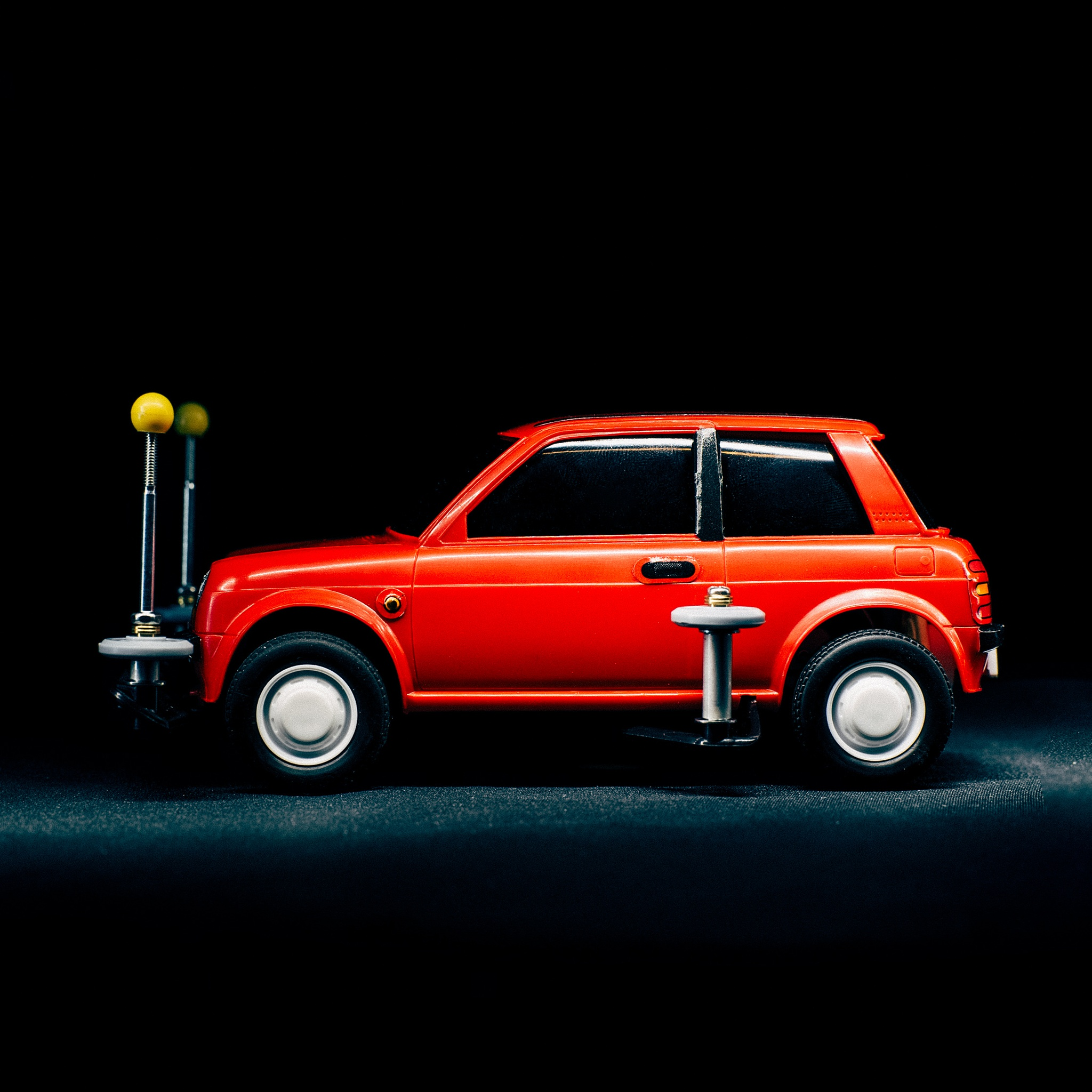 Little Red Car by Kenny Saputra