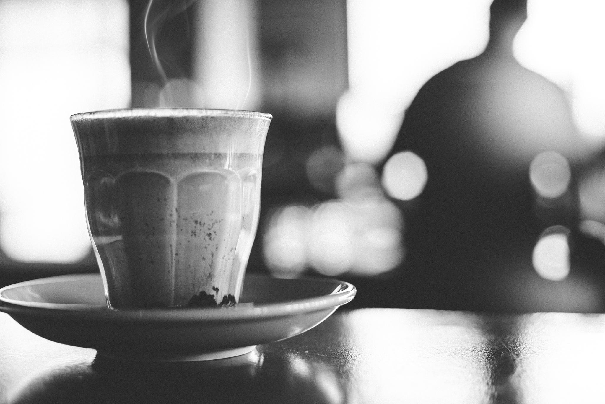 Smells of a Green tea latte by Kenny Saputra
