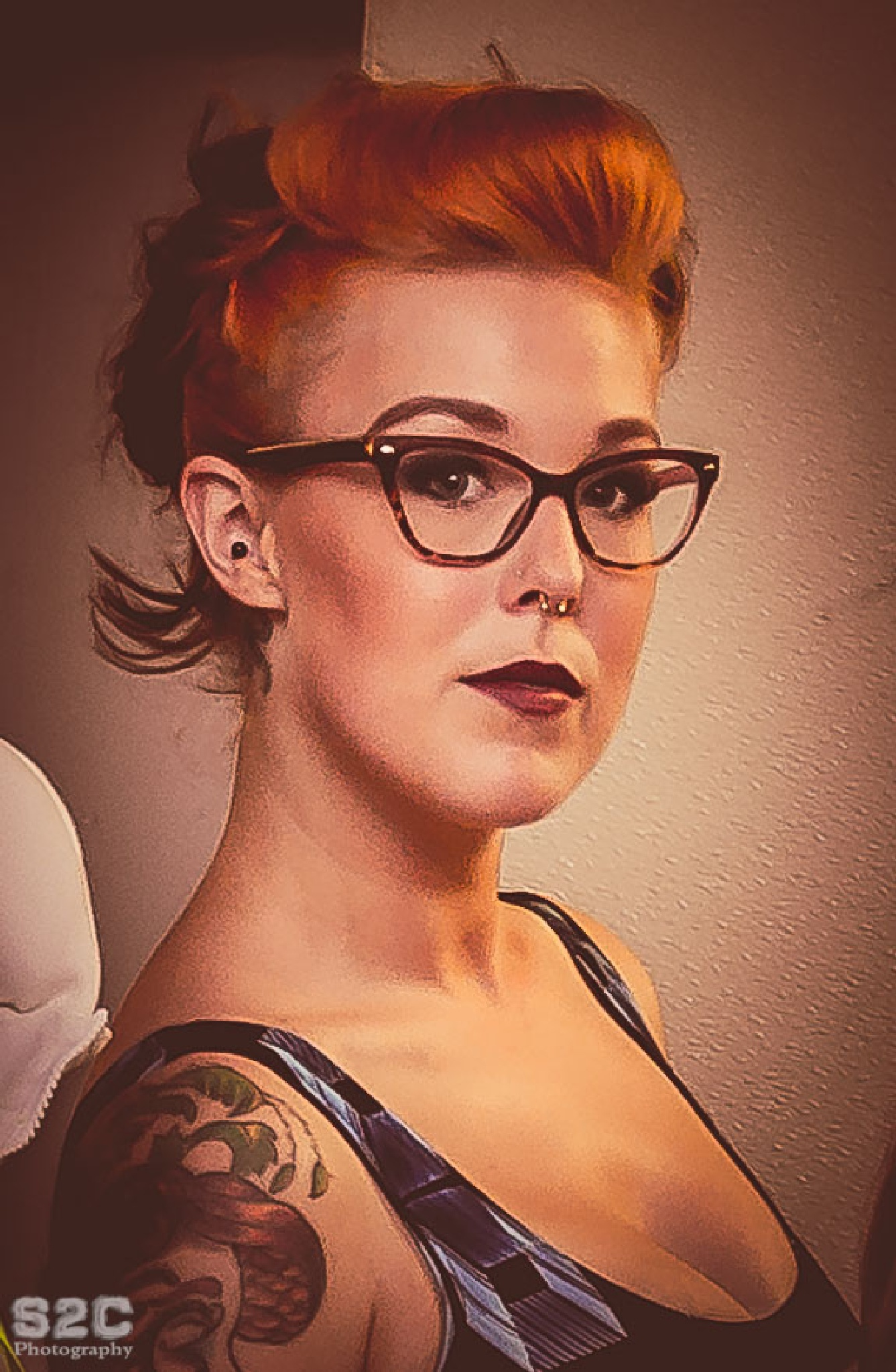 pin up girl look by Christopher A.