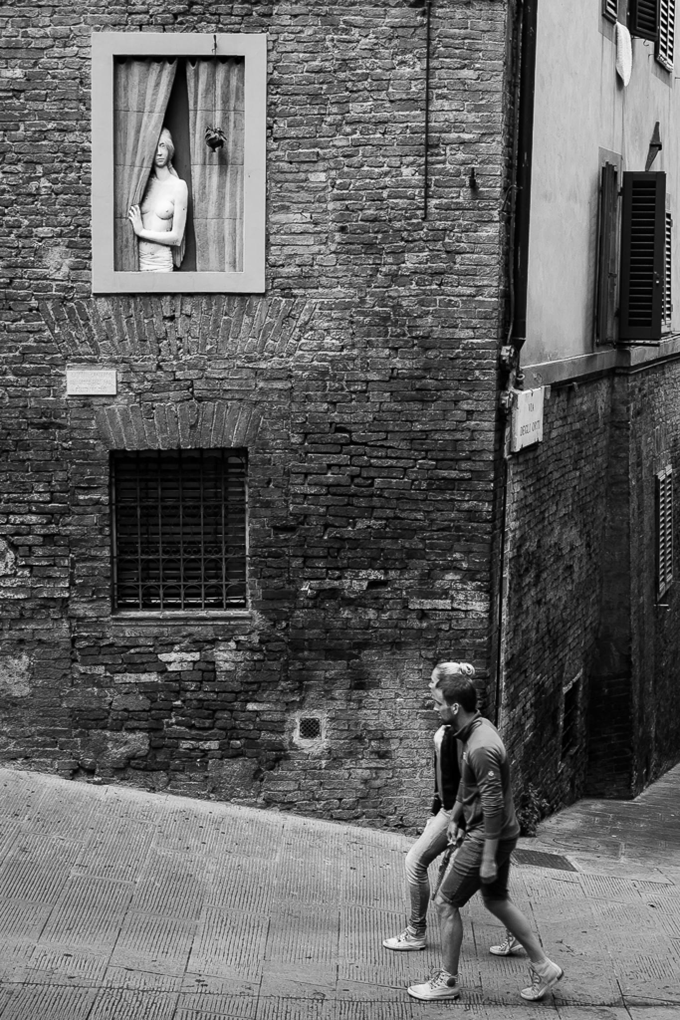 watcher woman by Francesco Monari