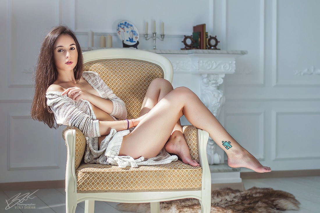 sunny and barefoot by VitX.Minsk