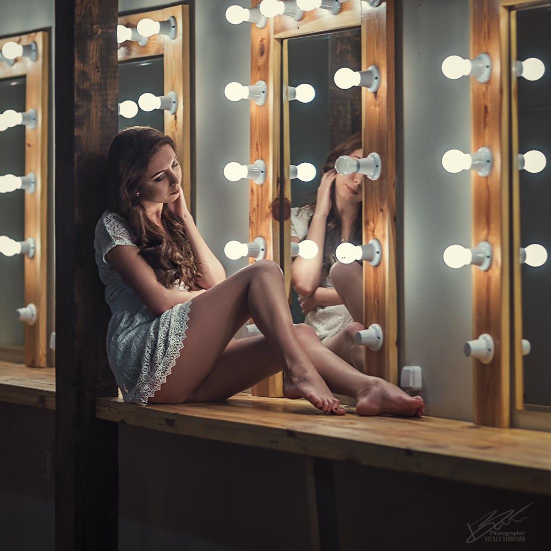 exquisite long bare feet by VitX.Minsk