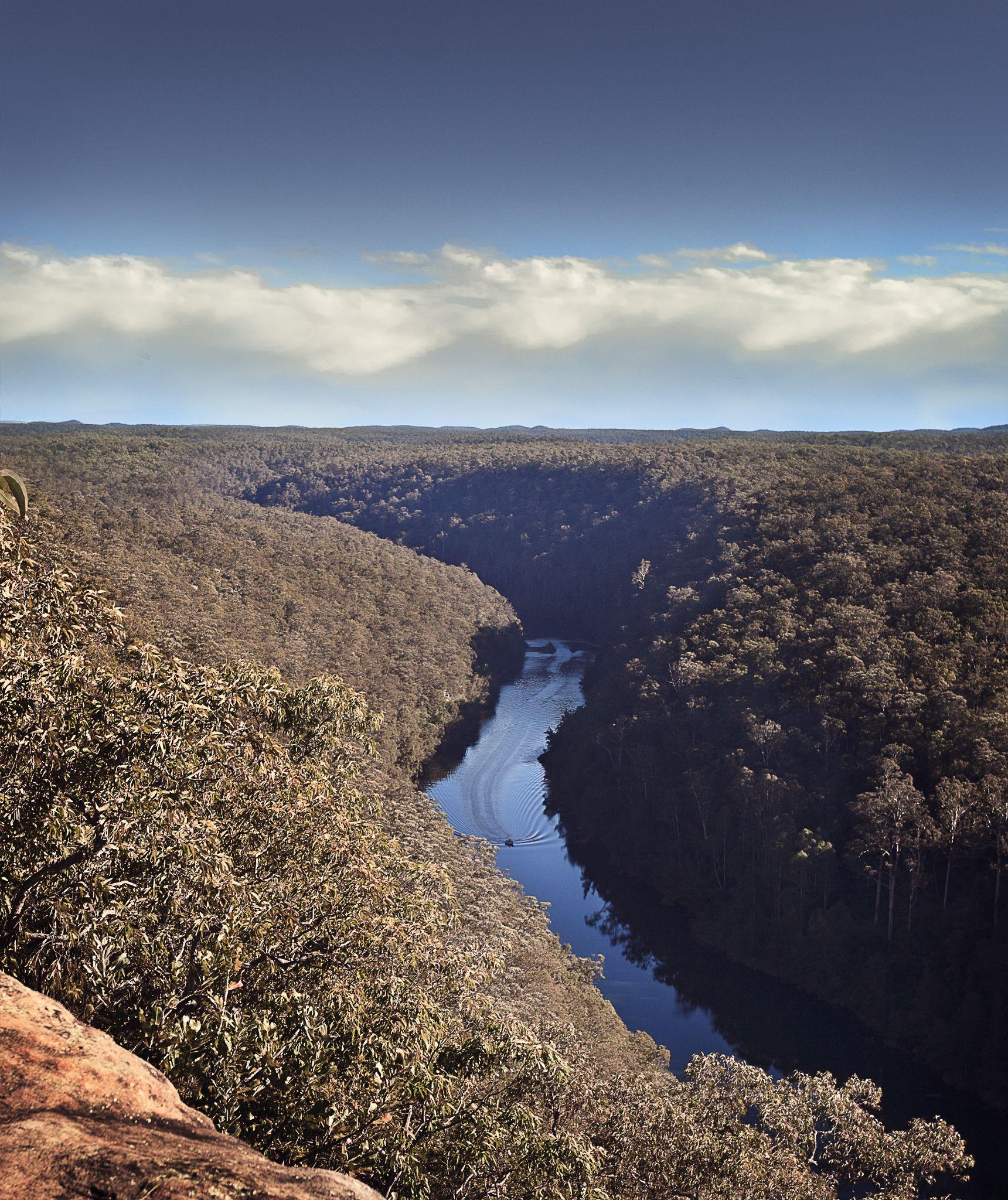 Tinny in the Gorge by nicolinekronast