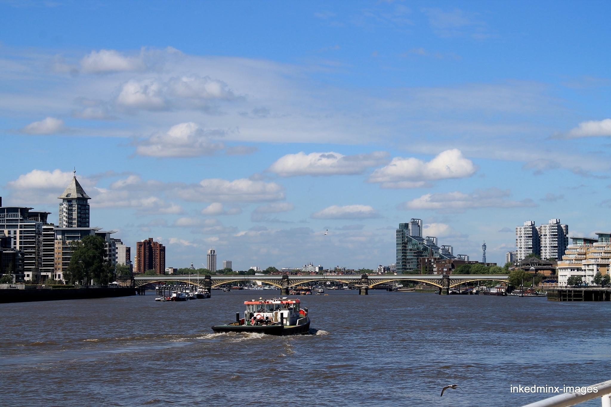 Thames view by Miranda Inked-minx Watkins