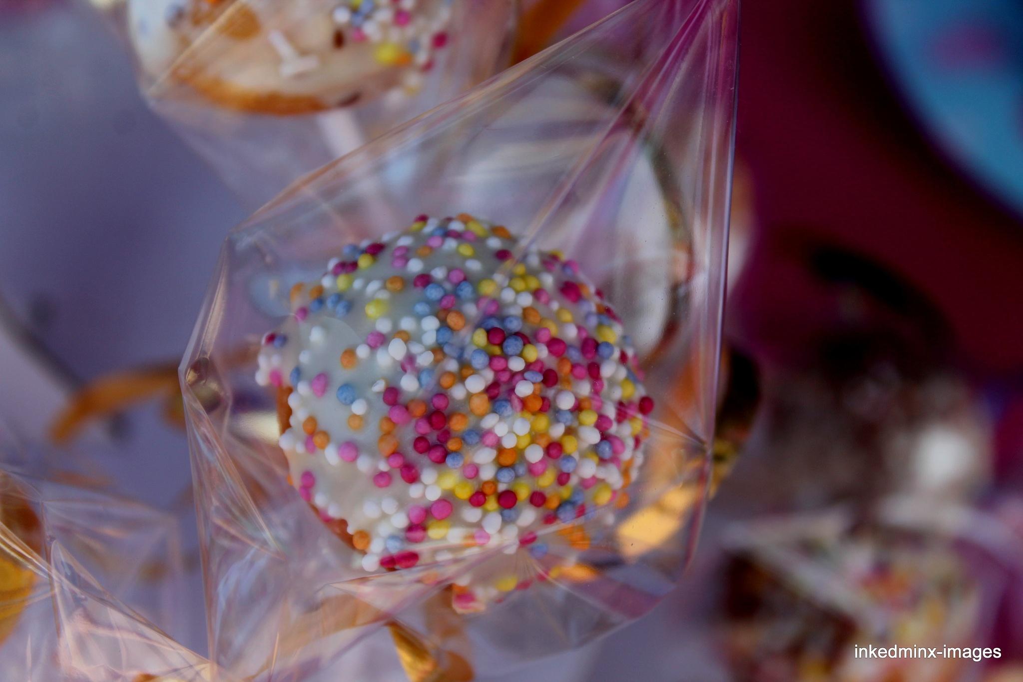 doughnut pops by Miranda Inked-minx Watkins