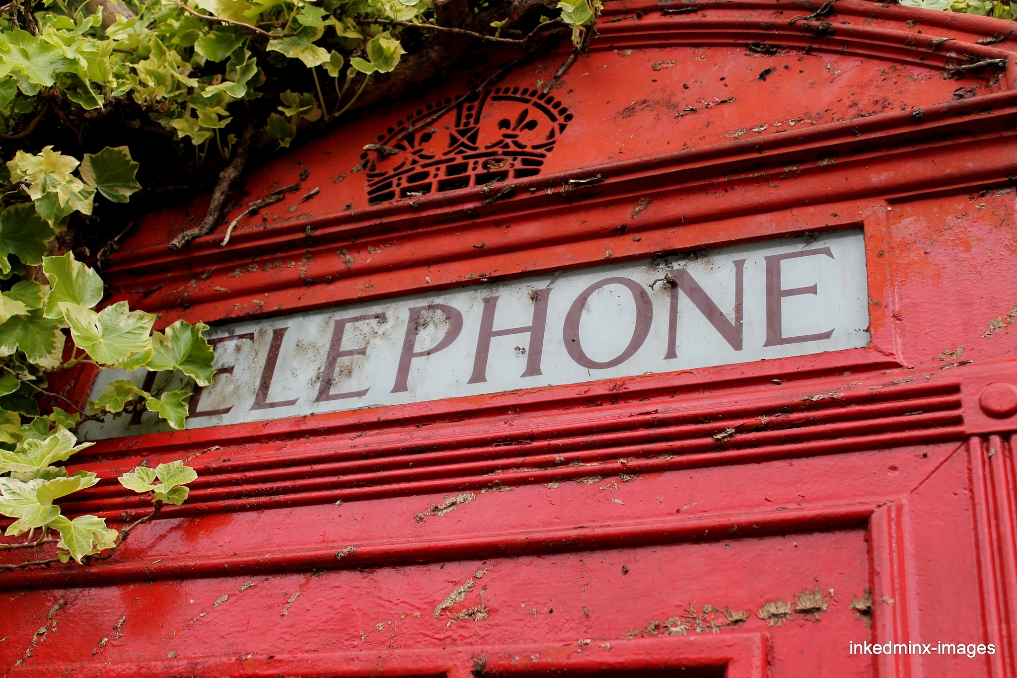 traditional phonebox by Miranda Inked-minx Watkins