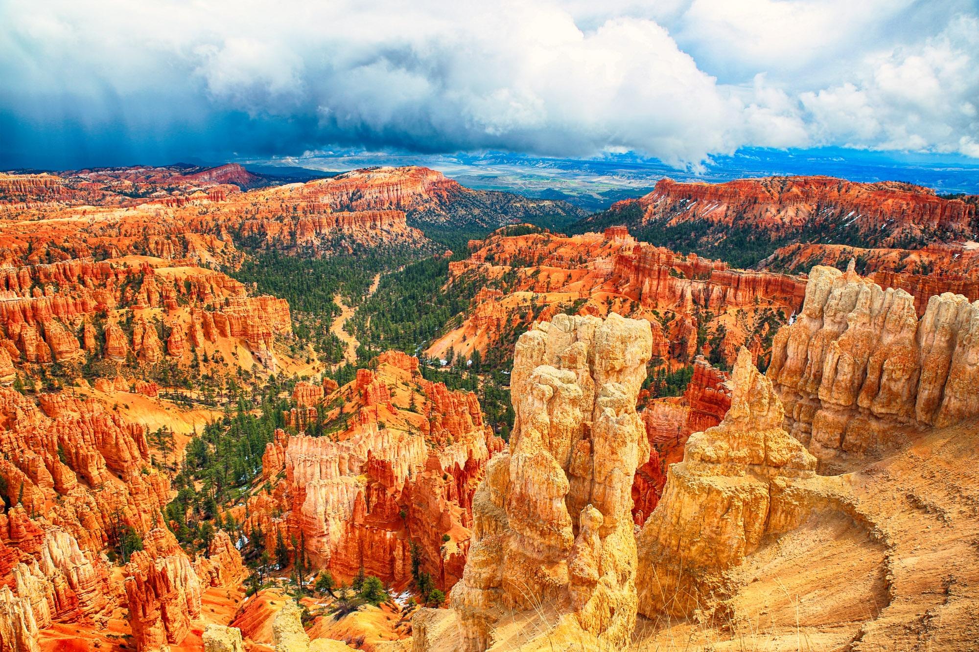 Bryce Canyon by Kjersti Holmang