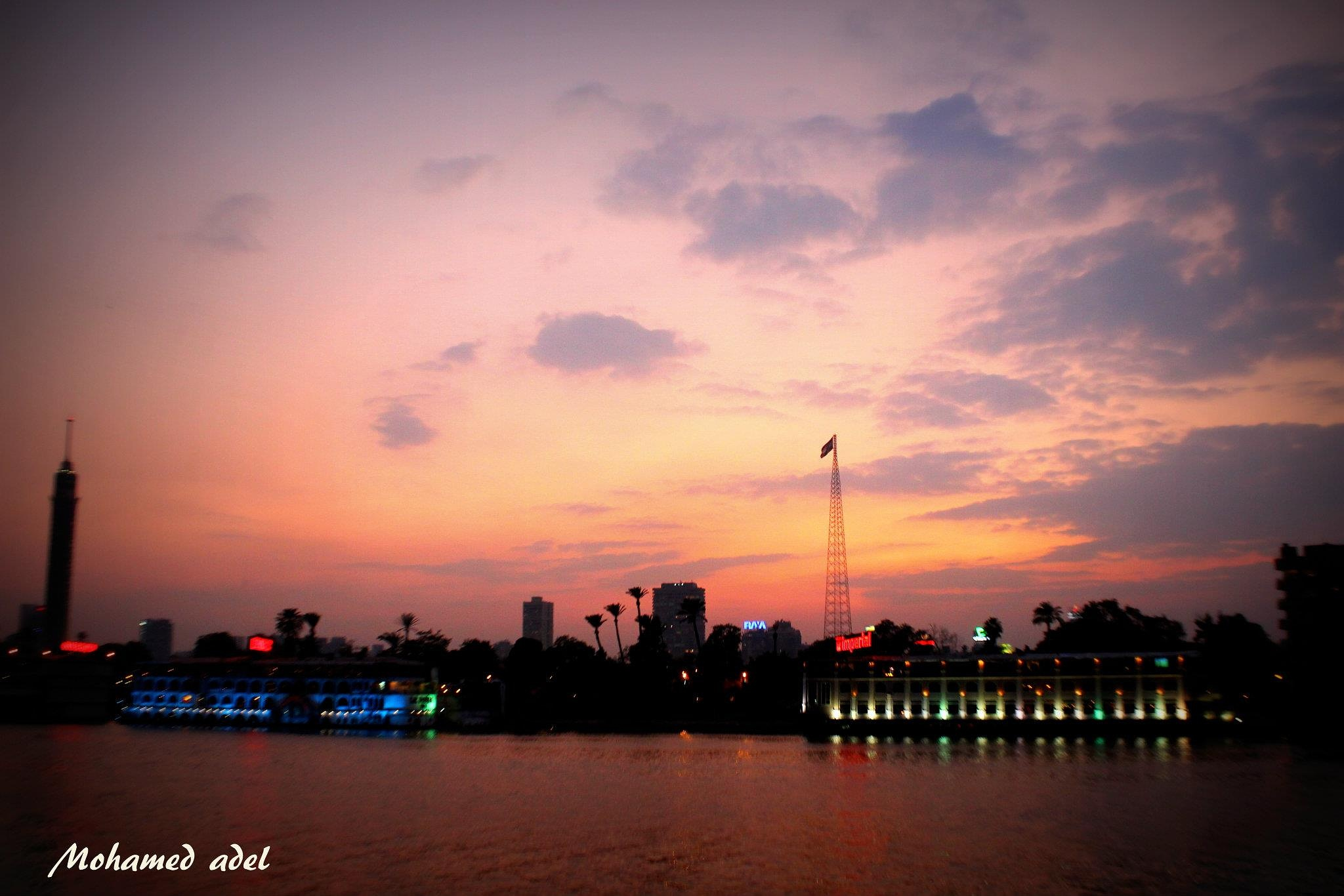 Neil Cairo and the magic of the sunset by Mohamed Adel Press