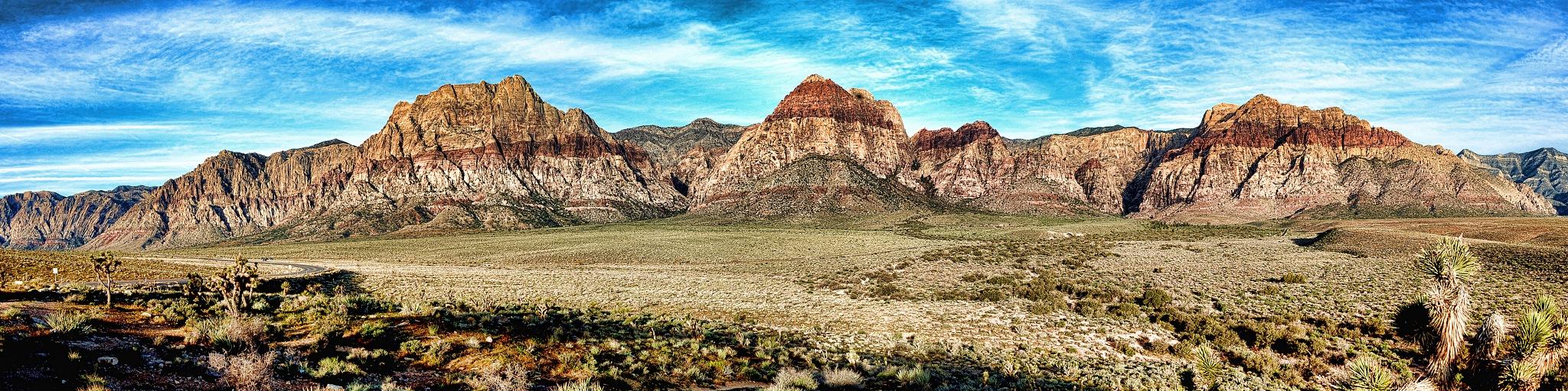 Photo in Landscape #landscape #pano #red rock #las vegas