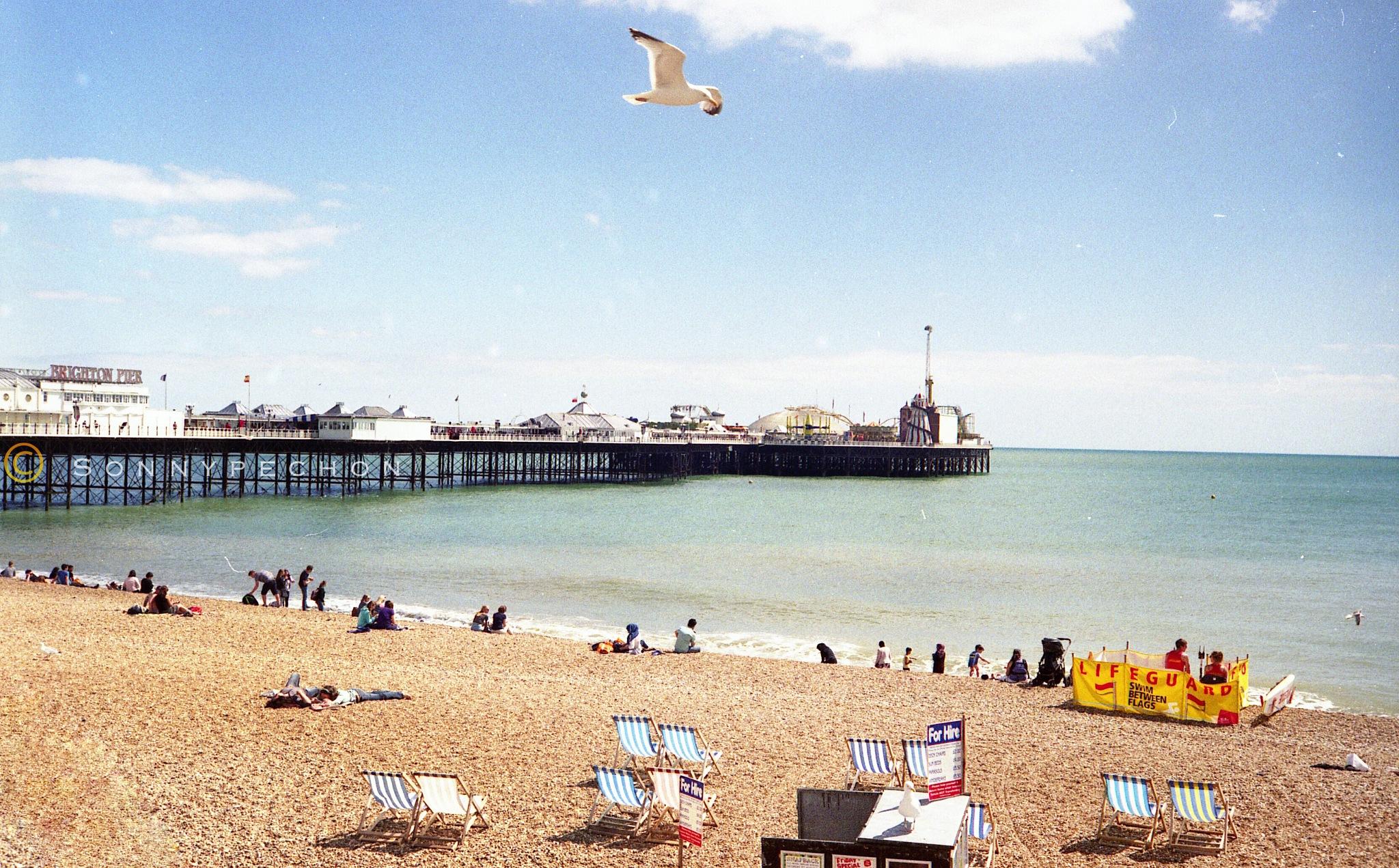 Brighton Pier by Sonny Pechon