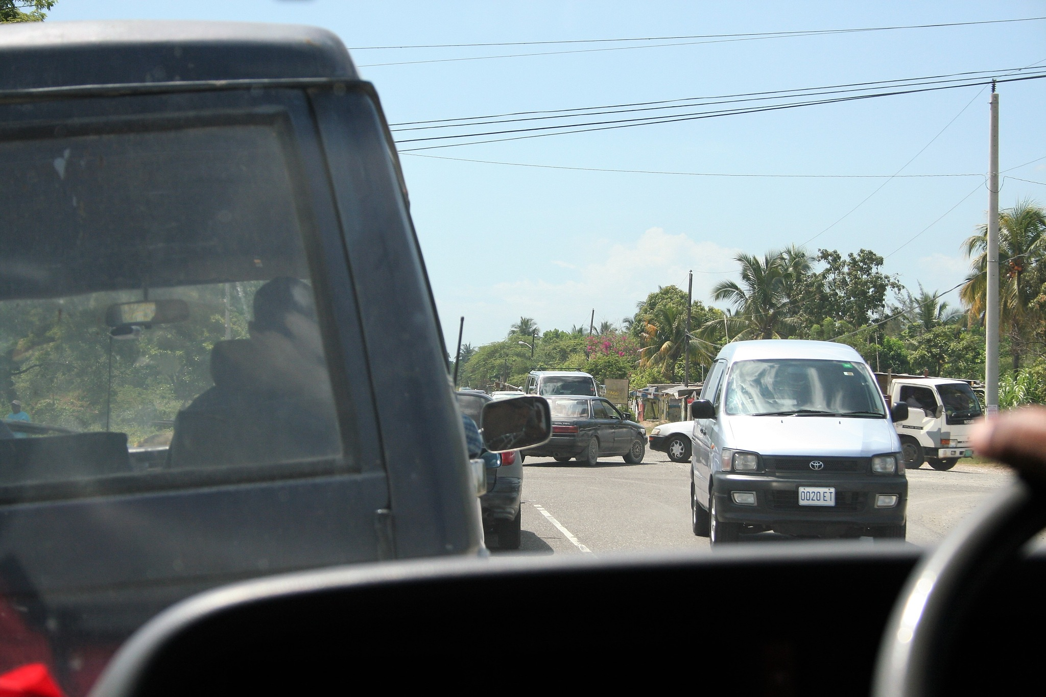 Driving in Jamaica is Scary by Luigi Cappel