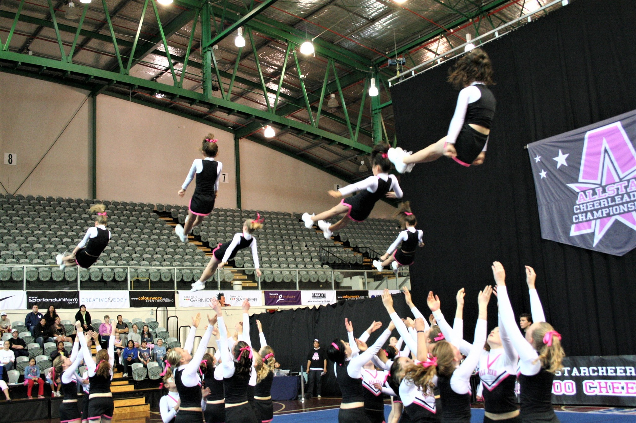 Let's Toss Some Girls in the Air by Luigi Cappel