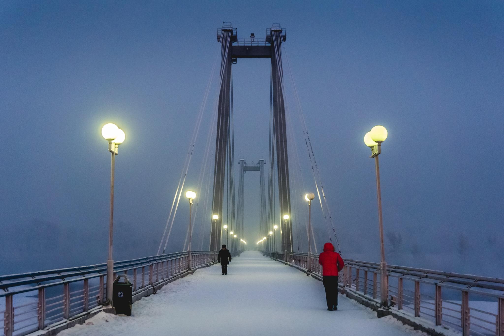 Bridge to Tatysheva island. by sgjordans