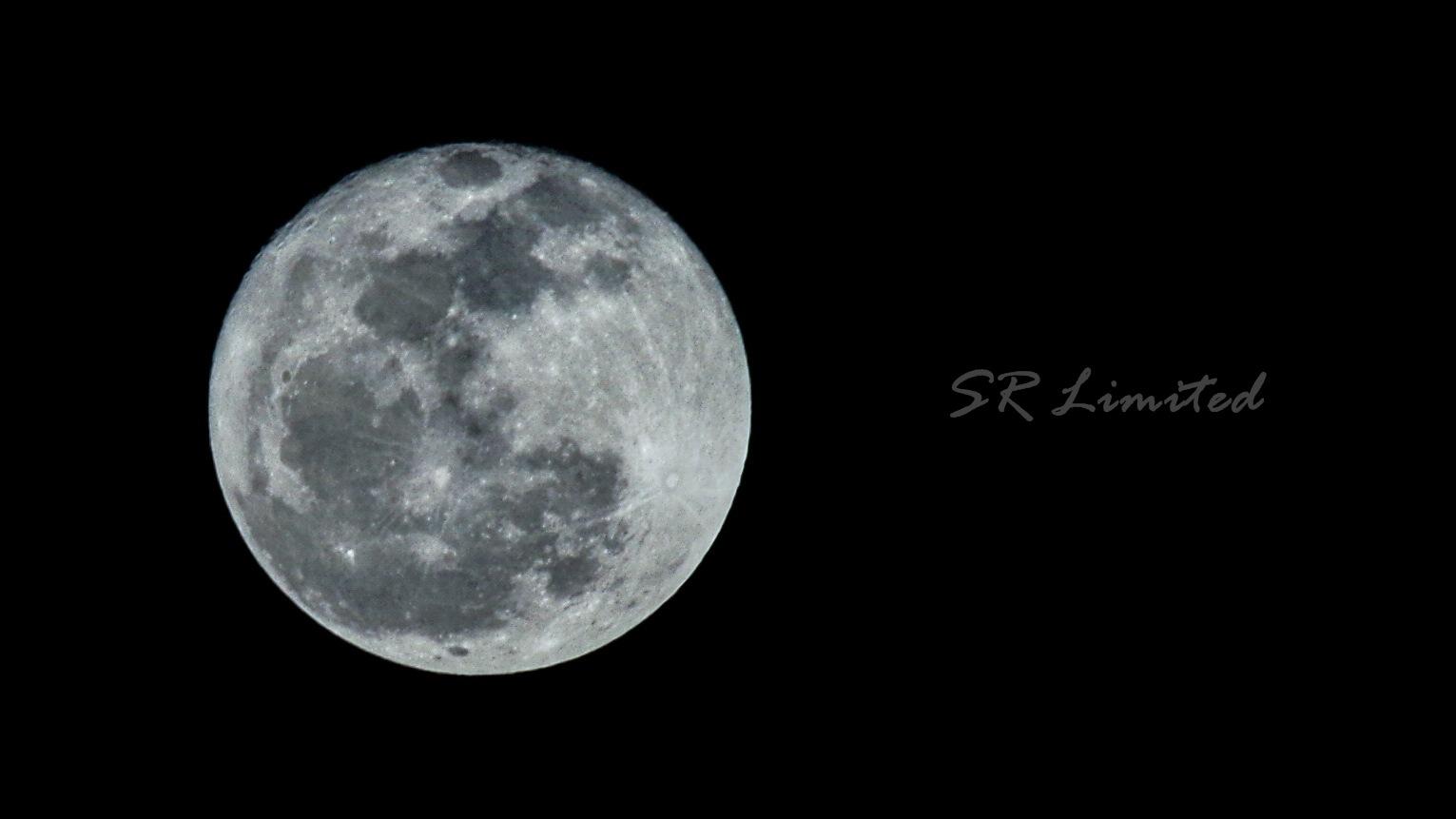Moon on the last night by R. Deta Shandytia