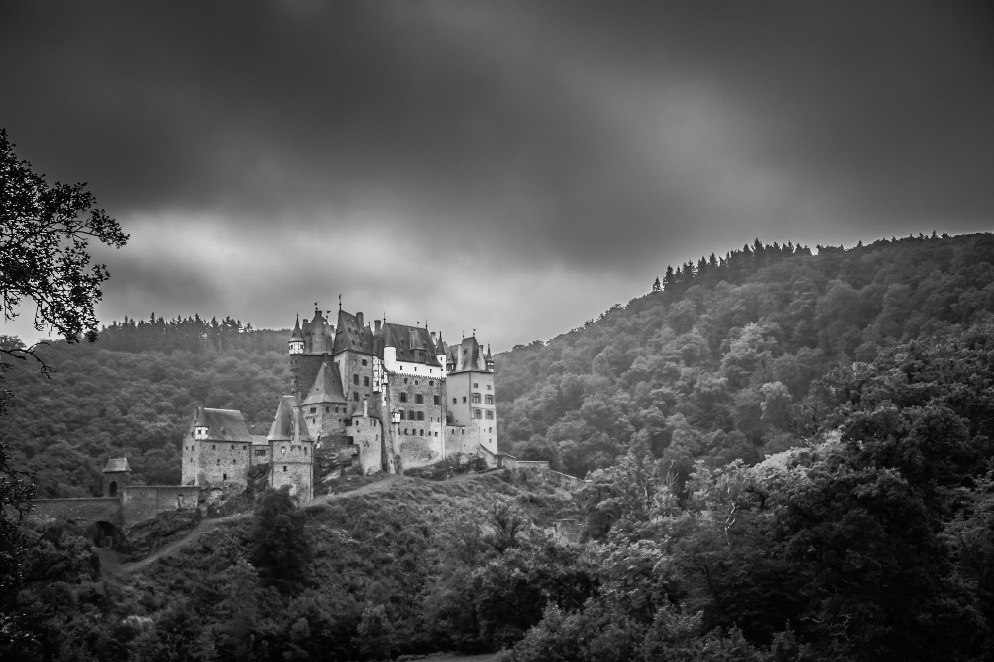 Castle in the woods by HRD.Photo
