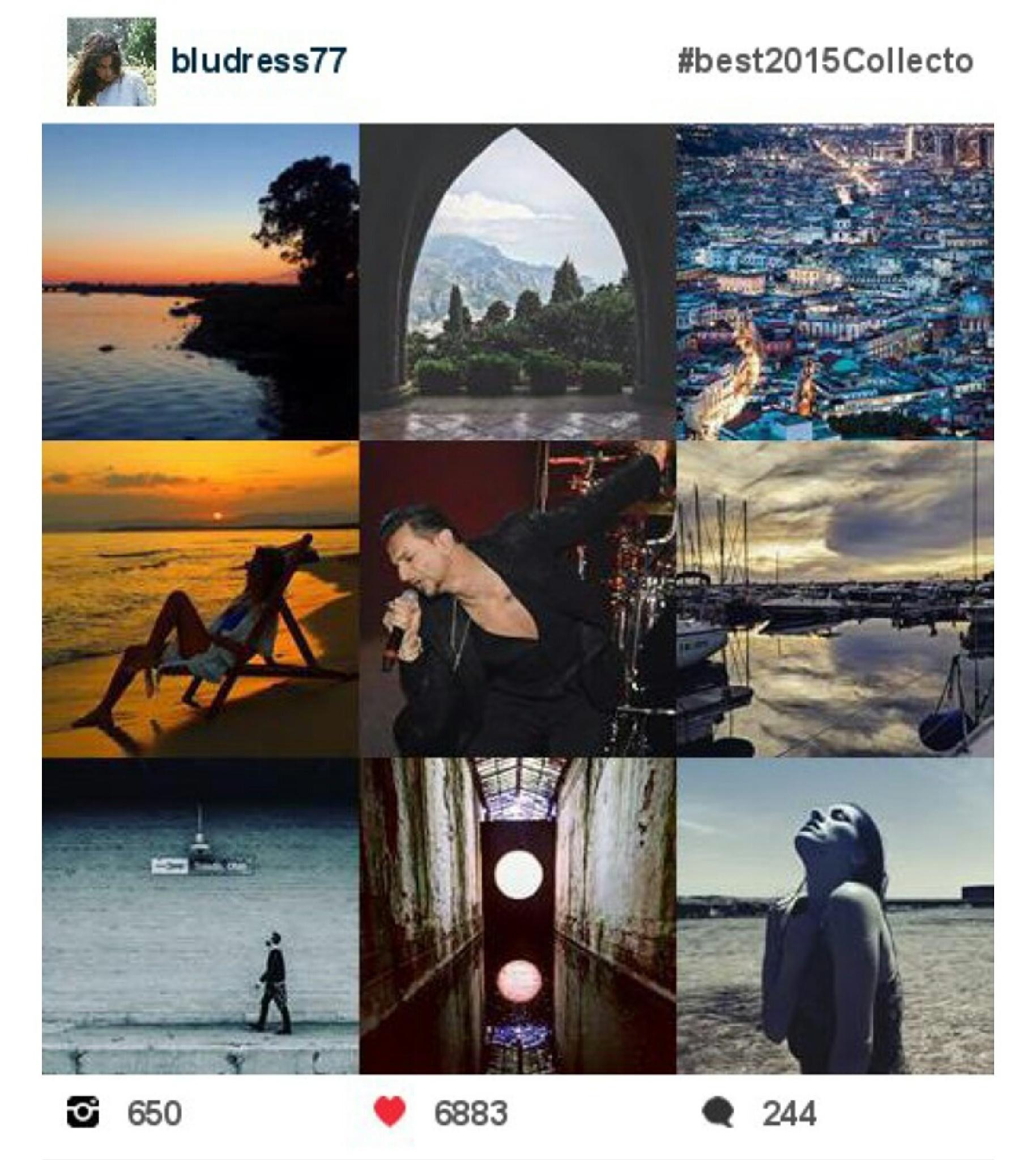Un anno di instagram by Felicia Bruscino