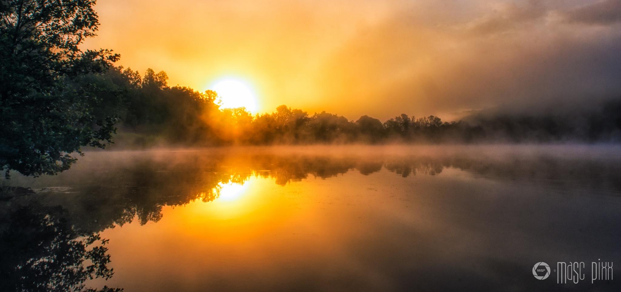 Mystic Sunrise by Martin Schunack
