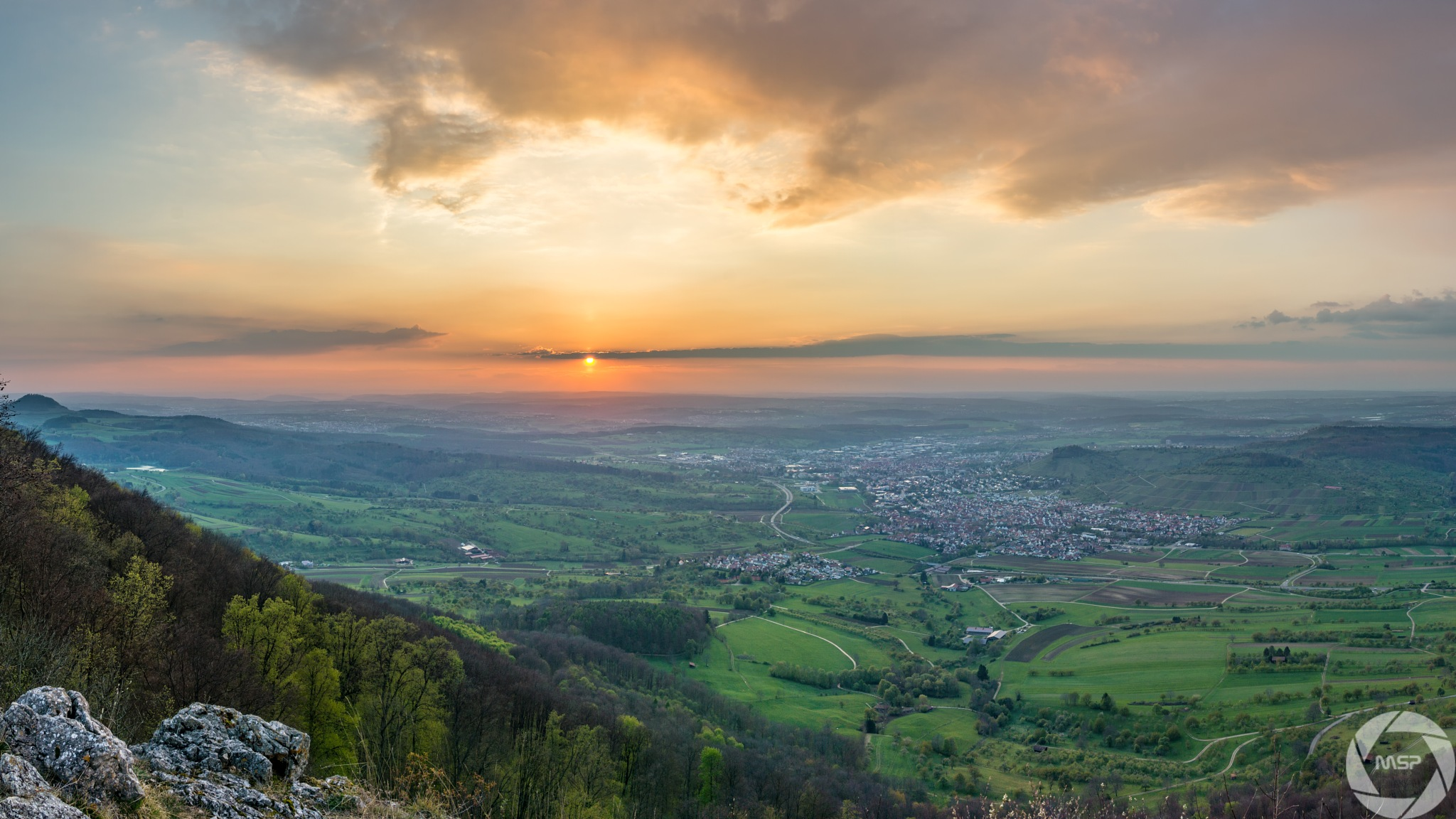 Mystical Sunset  by Martin Schunack