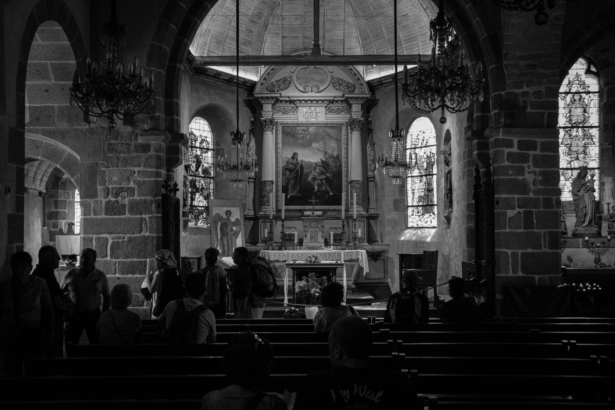 Mont St. Michel Parish by Benjamin Hernandez