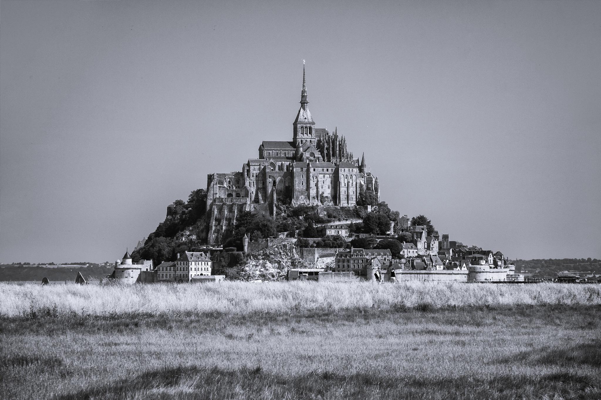 Mont St. Michel - Selenium by Benjamin Hernandez