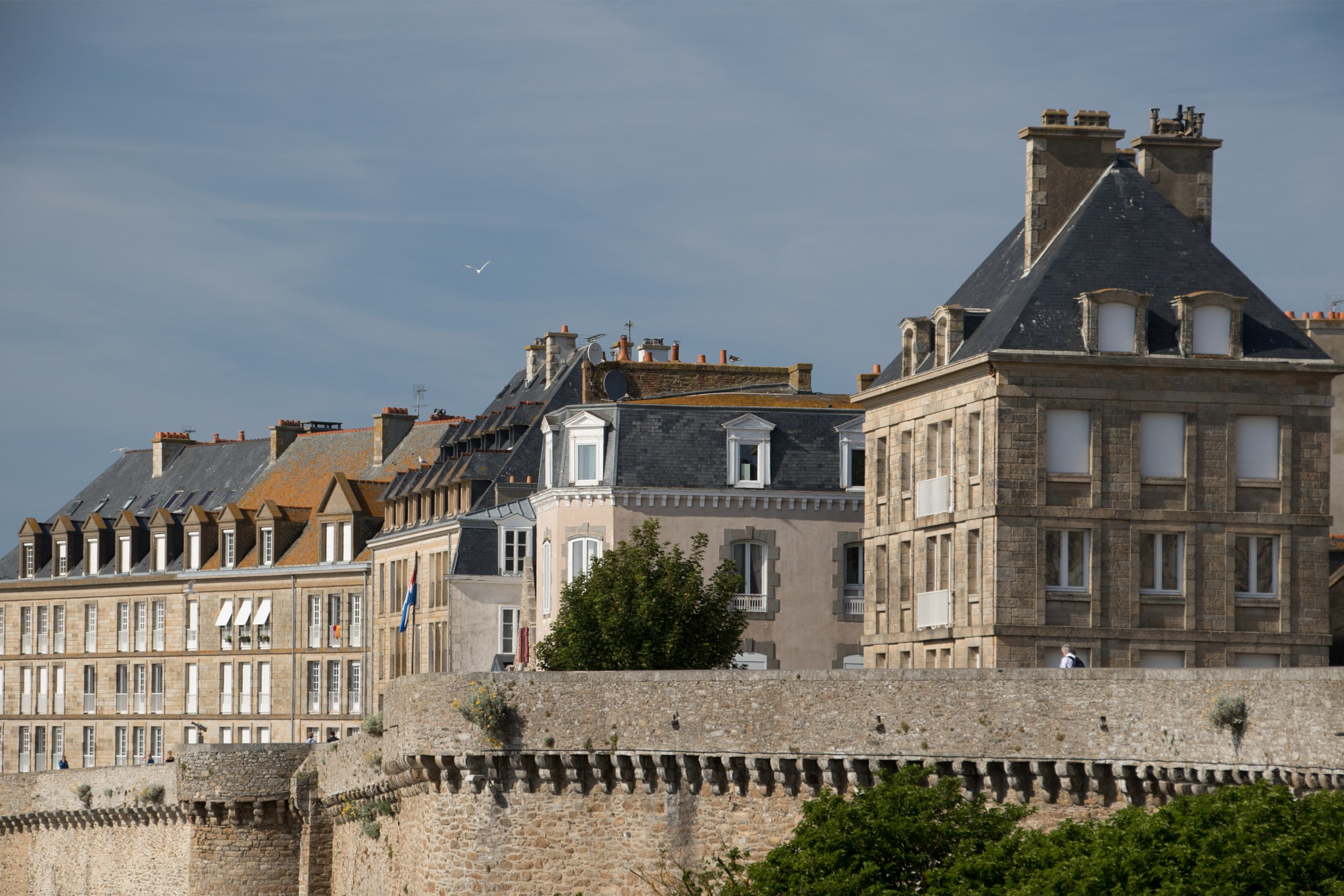 St Malo From the Beach by Benjamin Hernandez