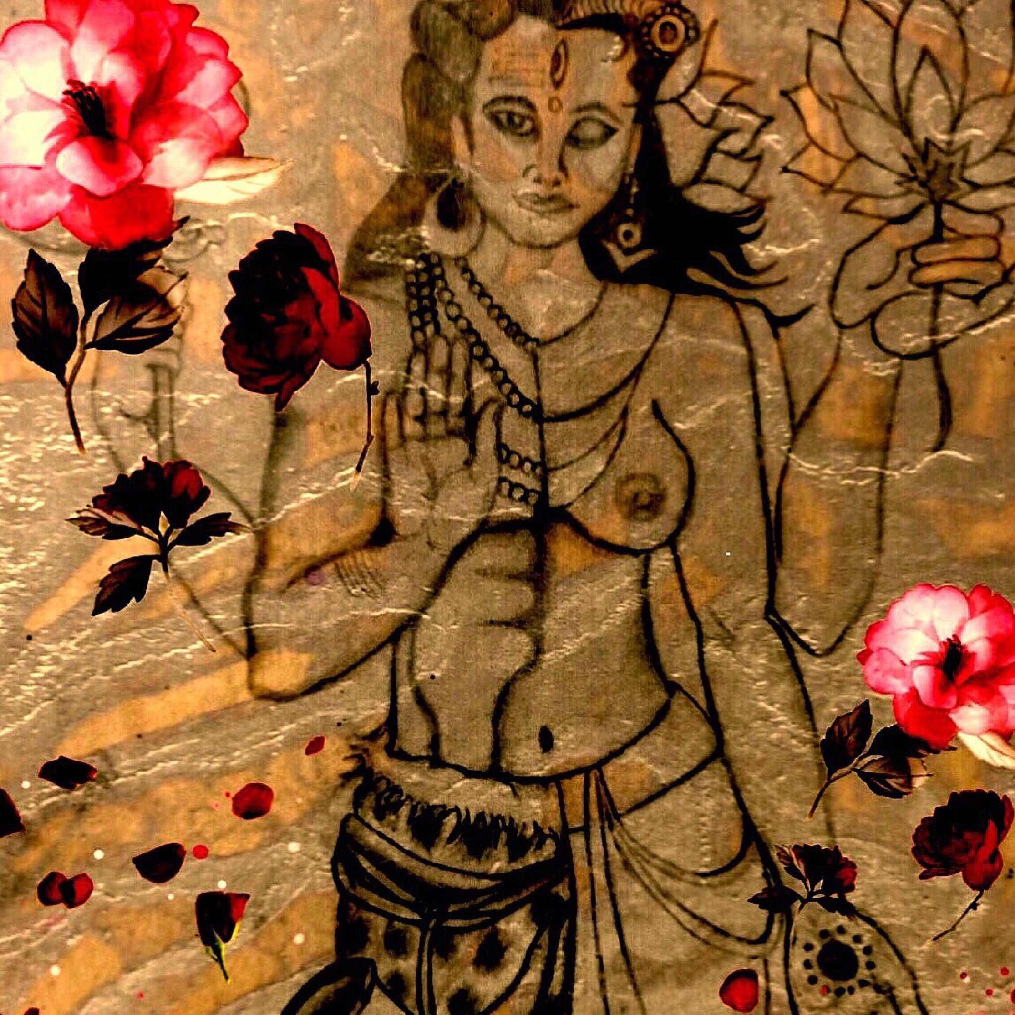 Hermaphrodite Deity  by Devin Cherubini